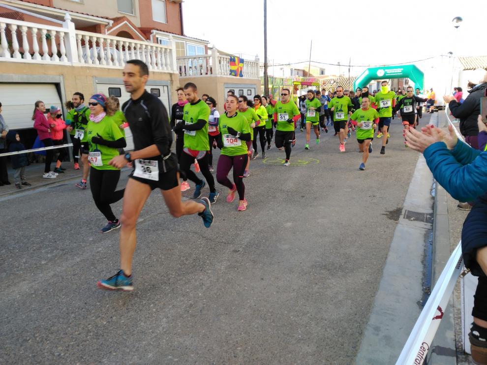 Imagen de la edición del año pasado de la popular 6K de Villafranca de Ebro.