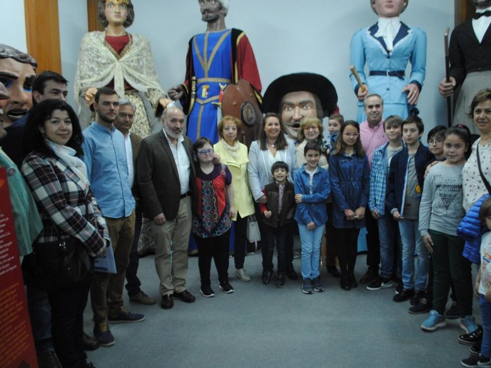 Los niños del Consejo de Infancia y Adolescencia inauguraron la Casa de los Cabezudos en abril.
