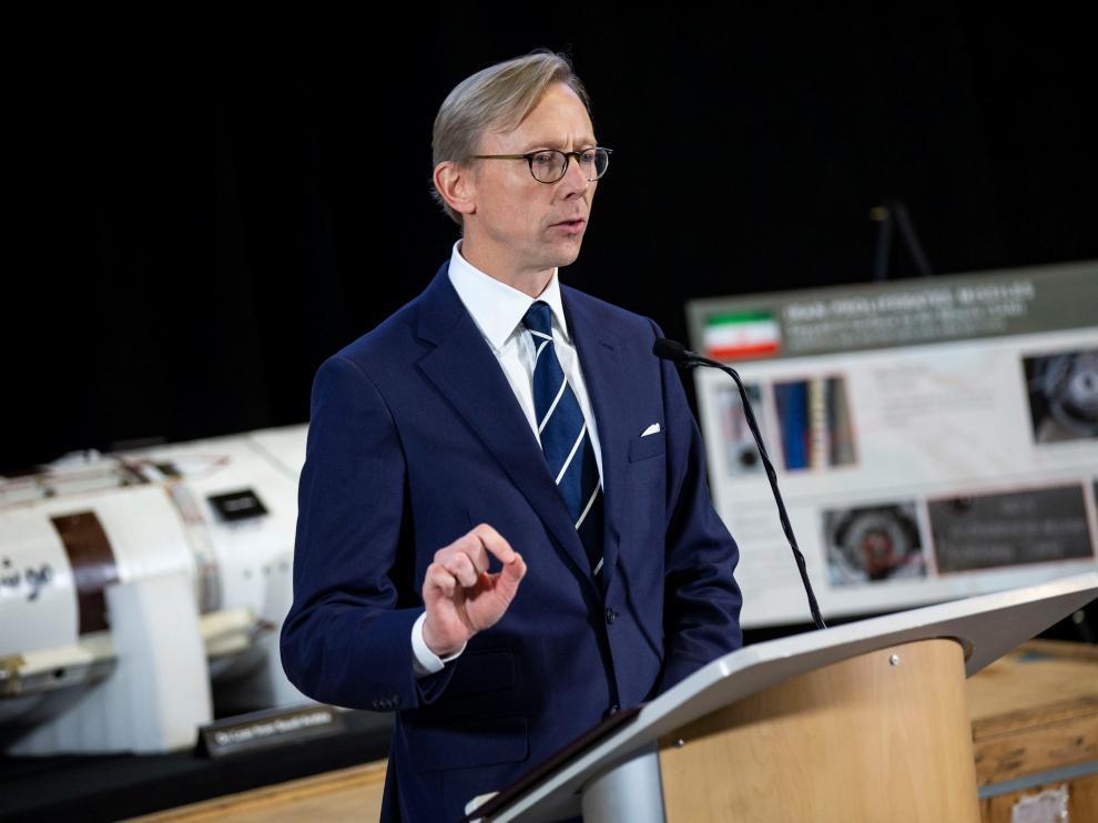 El representante especial del Gobierno de EE.UU. para Irán, Brian Hook.