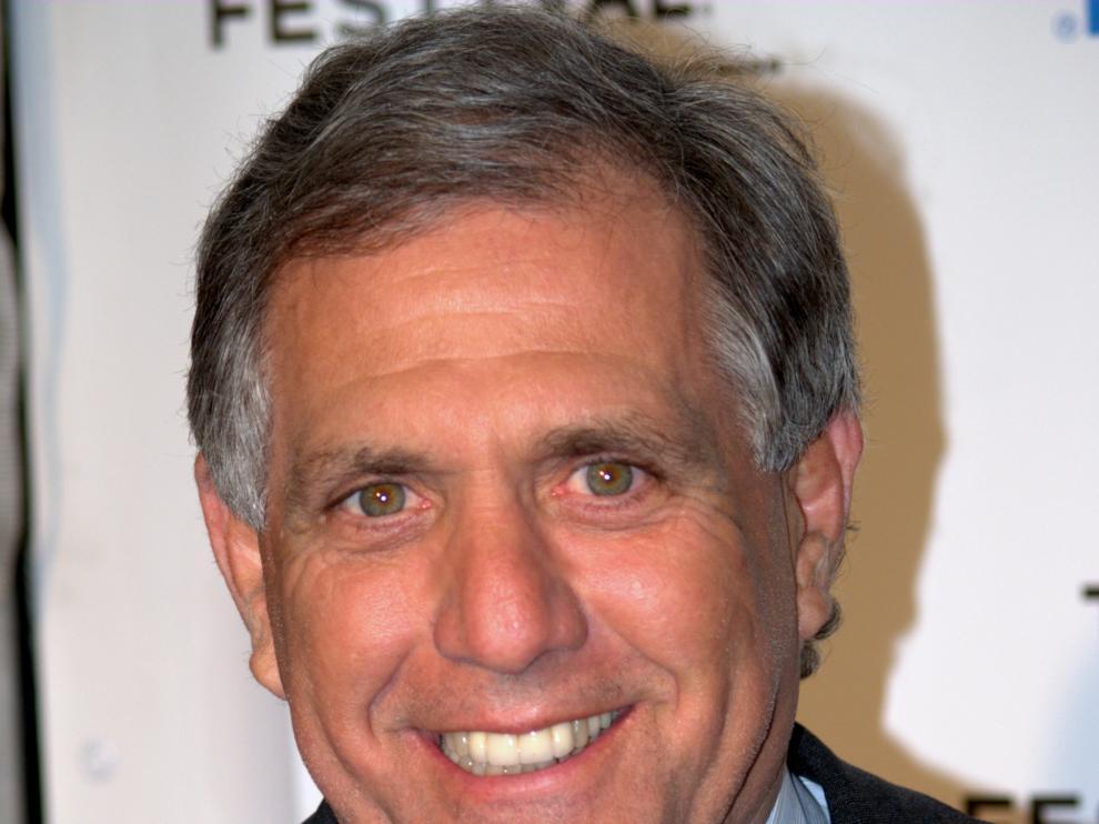 El exdirector de la CBS, Leslie Moonves.