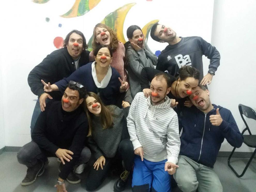 Diez años formando payasos de hospital en Zaragoza