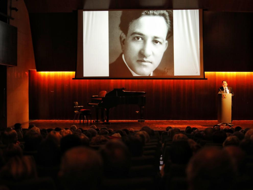 El memorial por el 120 aniversario del nacimiento de Fleta se celebró en la Diputación