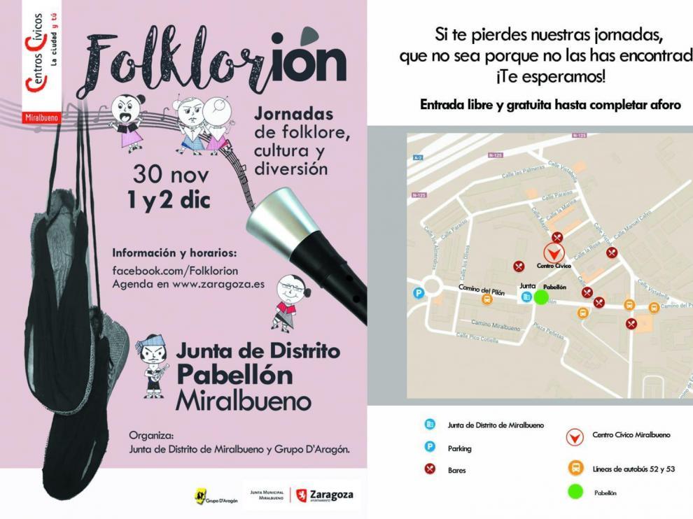 Una maratón de folklore aragonés en Miralbueno