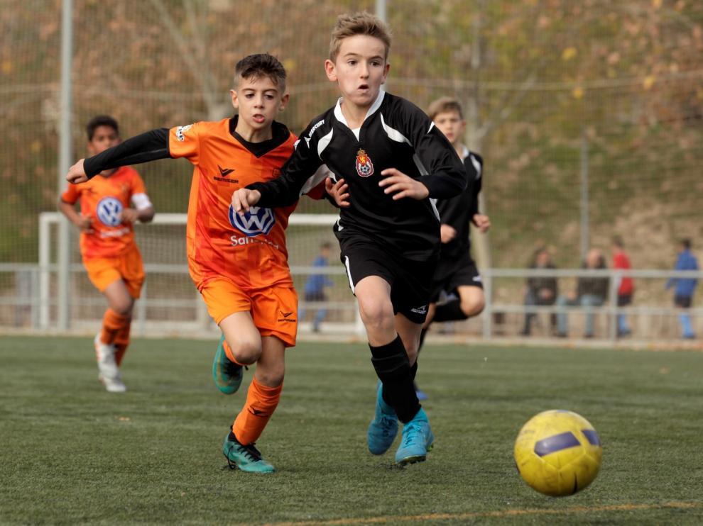 Fútbol. Benjamín Preferente- Juventud vs. Amistad.