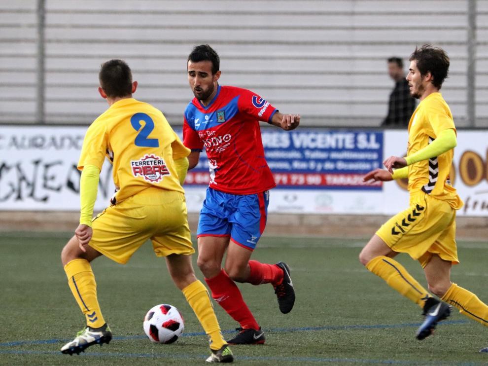 Fútbol. Tercera División- Tarazona vs. Robres.