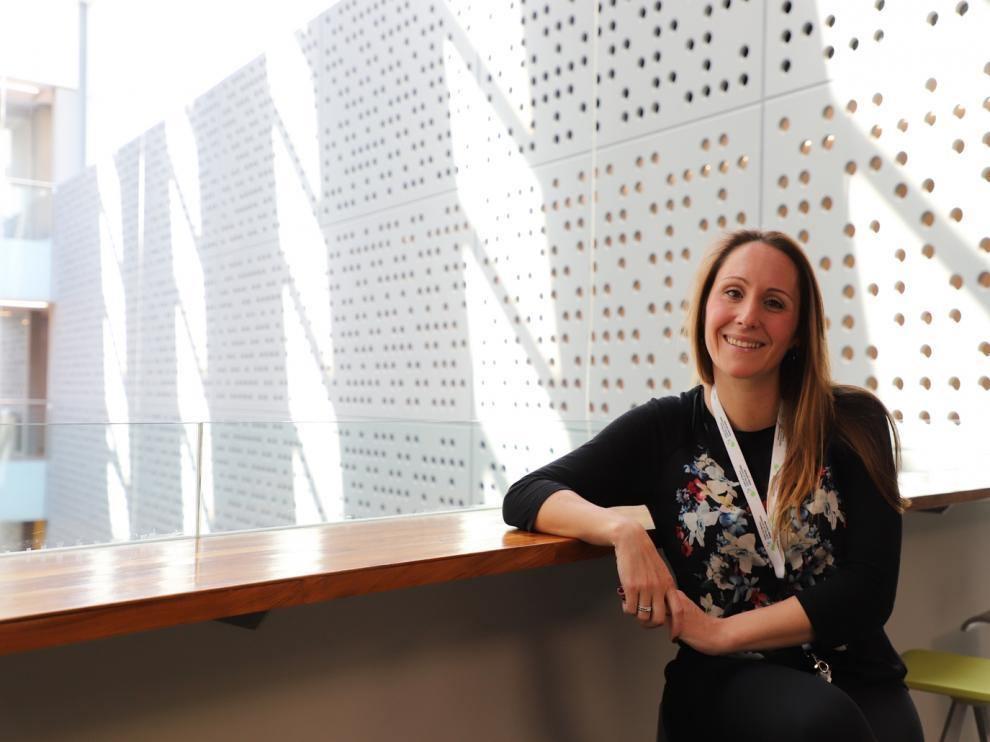 La investigadora oscense Biola Mª Javierre acaba de recibir el premio a la investigación L'Oréal-Unesco For Women in Science