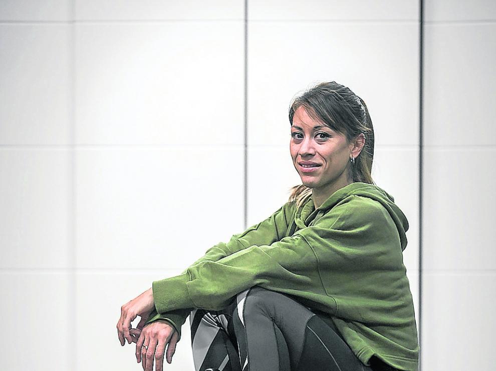 La subcampeona de Europa, Isabel Macías.