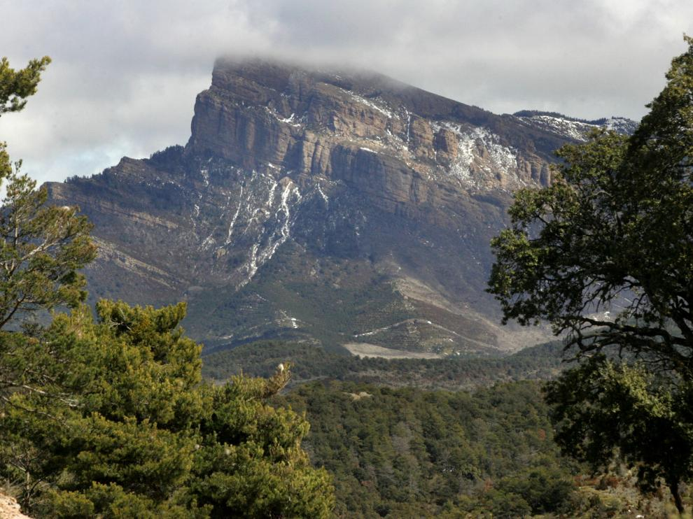 Imagen del entorno próximo al monasterio de San Juan de la Peña.