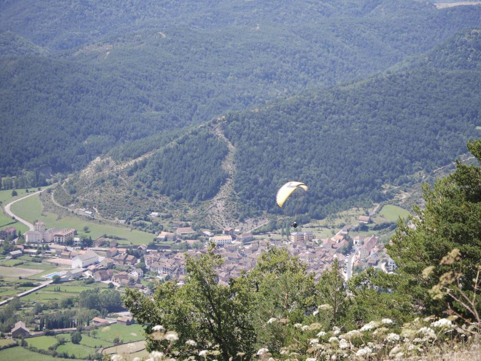 Vista panorámica del valle.