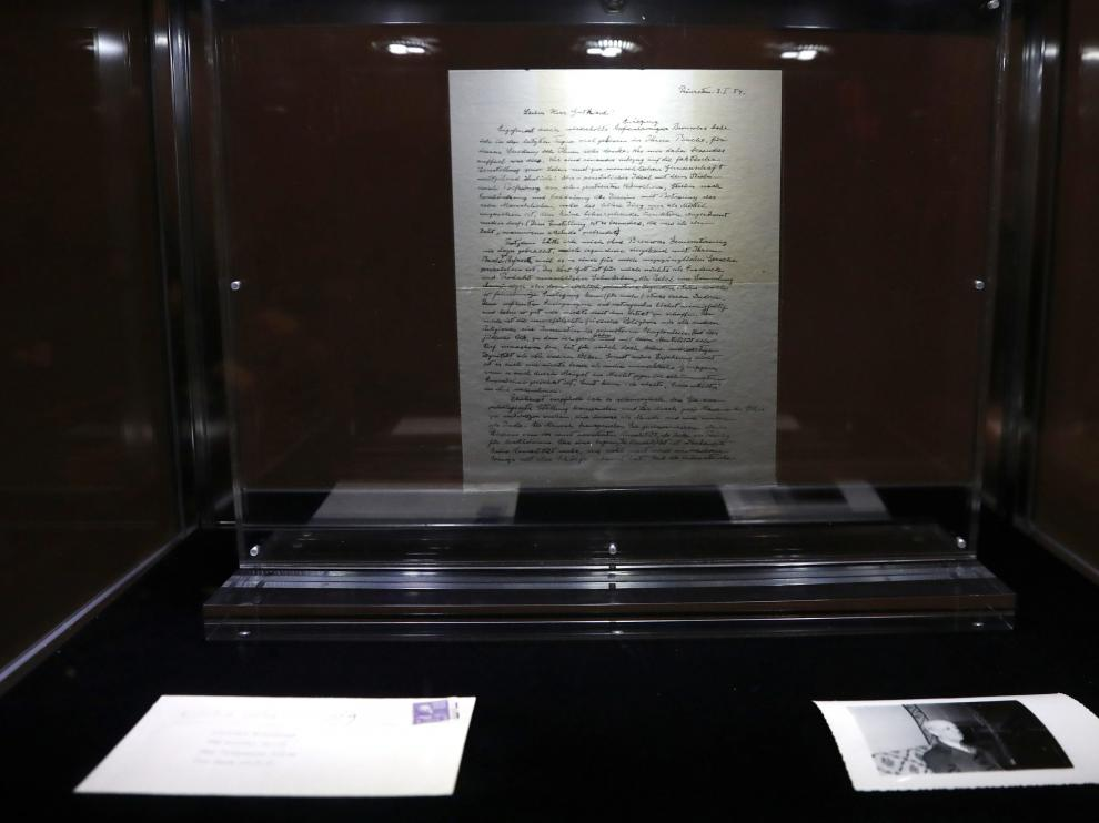 La carta manuscrita ha sido subastada en la casa Christie's.