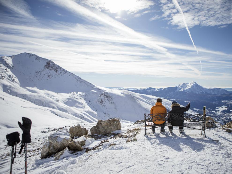 Cerler ofrece unas vistas fabulosas del Pirineo.