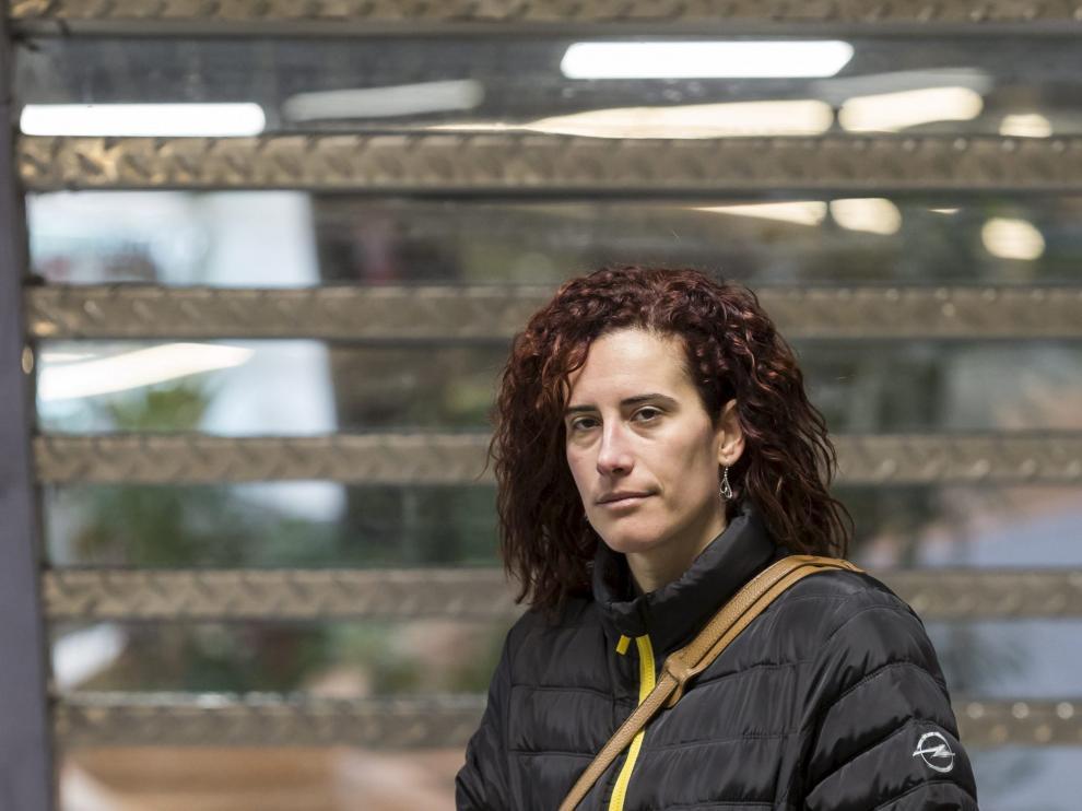 Sara Martín, presidenta del comité de Opel