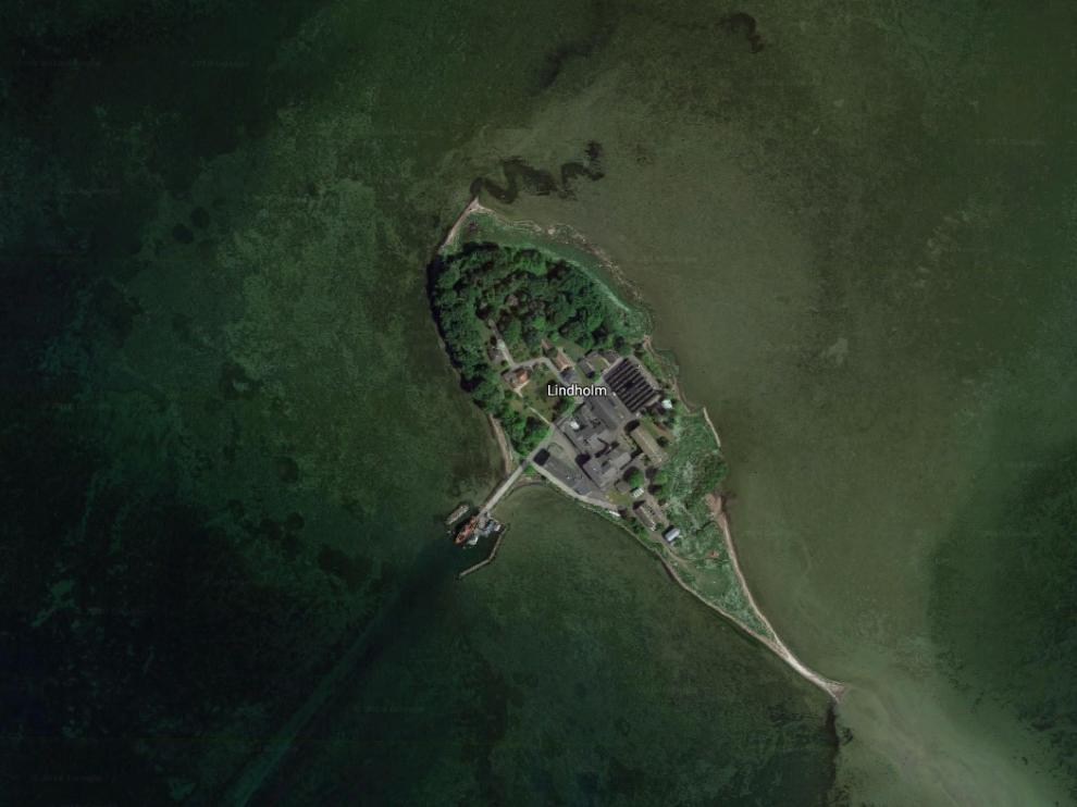 Lindholm, isla al sureste del país a donde se quiere destinar a los inmigrantes sin permiso.