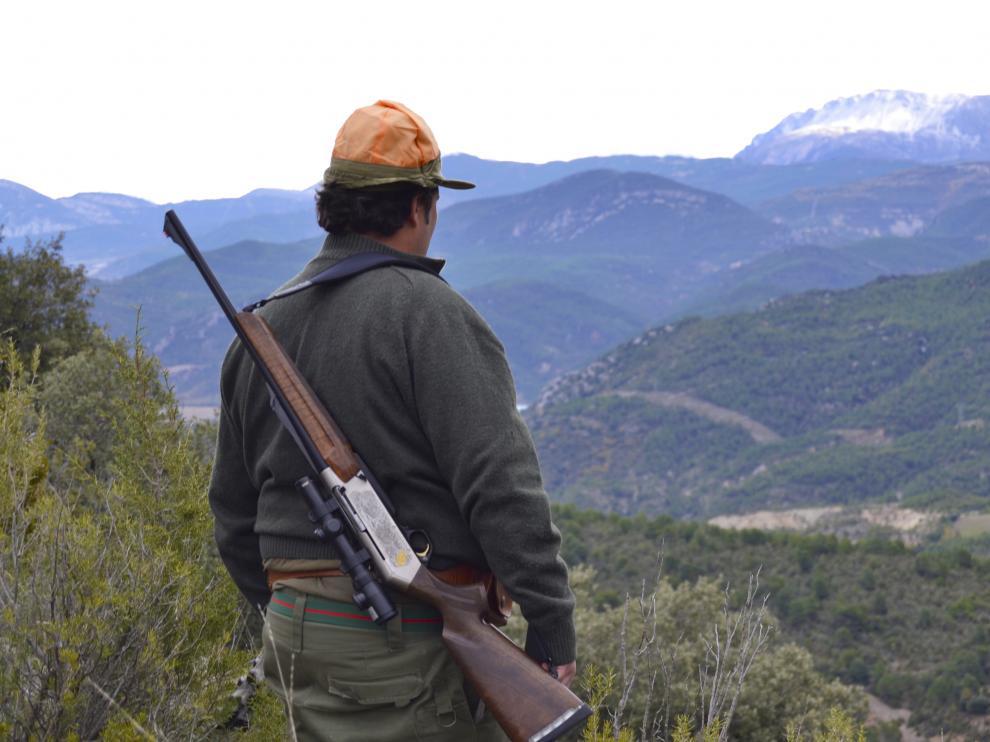 Imagen de archivo de una batida de caza