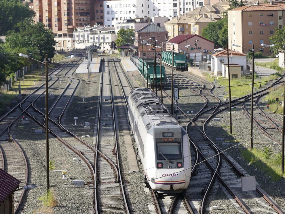 Imagen de la estación de trenes de Teruel