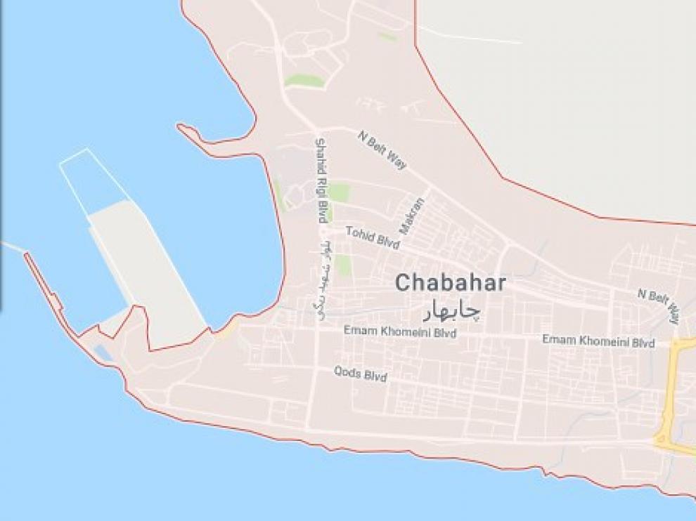 Zona de Irán donde se ha producido el atentado.