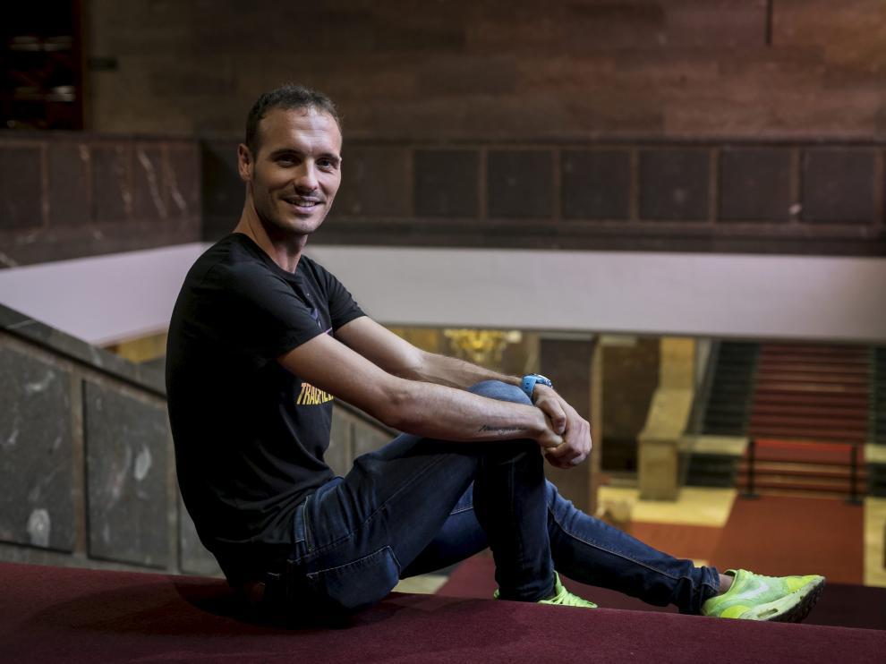 El fondista del Nike Toni Abadía