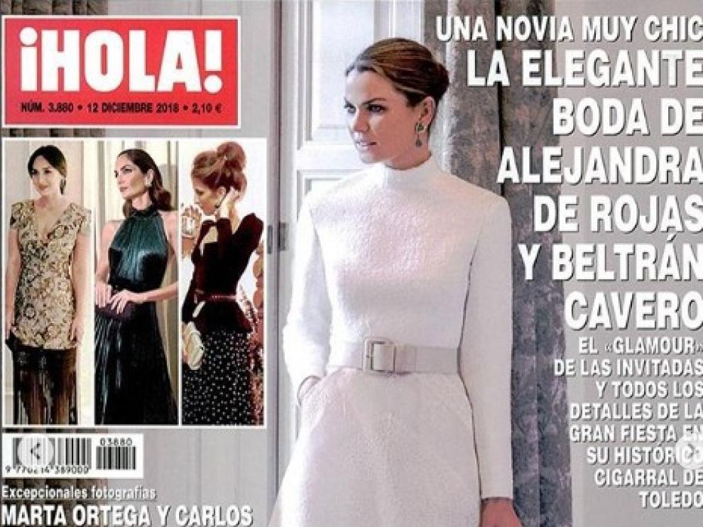 El aragonés Antonio Burillo y su socio en The 2nd Skin Co., Juan Carlos Fernández, trabajaron conjuntamente con la novia en este vestido que intenta reunir la idea de moda y contemporaneidad sin perder de vista lo retro.