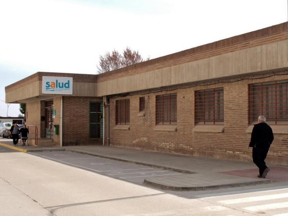 Imagen del exterior del centro de salud de Borja.
