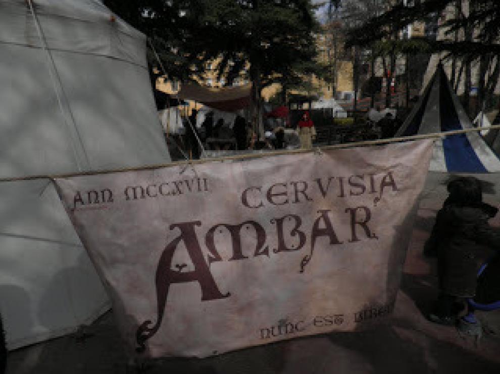 Cervisia Ambar en las Bodas de Isabel que se celebran en Teruel