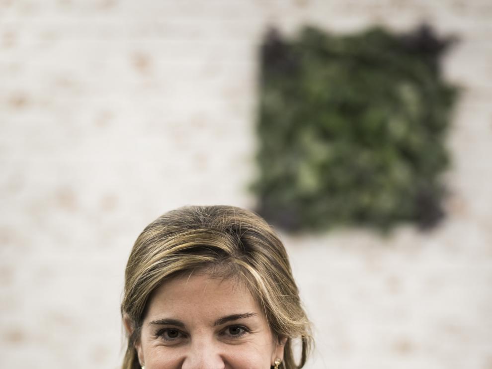 Marian Rojas, este viernes en la redacción de Heraldo.