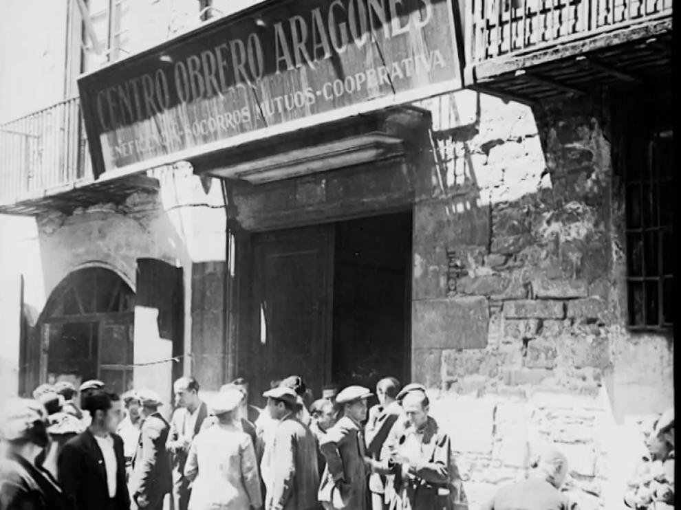Fotograma de 'Volver a Aragón'.