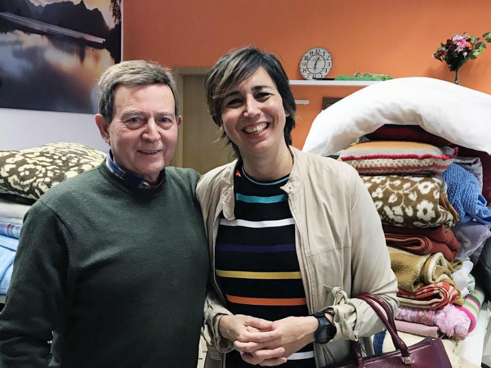 Ángela Sebastián y Fernando Rodríguez