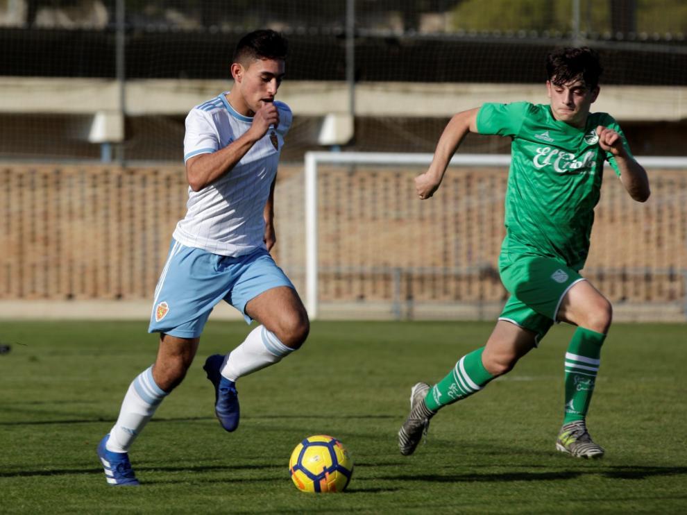Fútbol. División de Honor Juvenil. Zaragoza vs Stadium