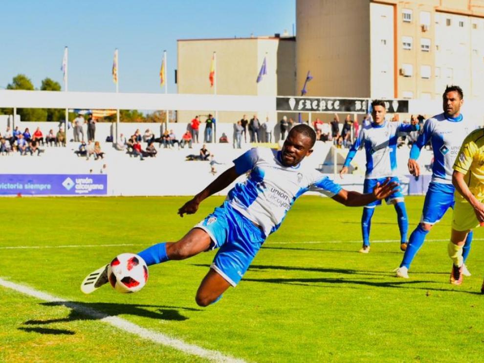 El Ejea consigue un valioso empate en el campo del Collao de Alcoy