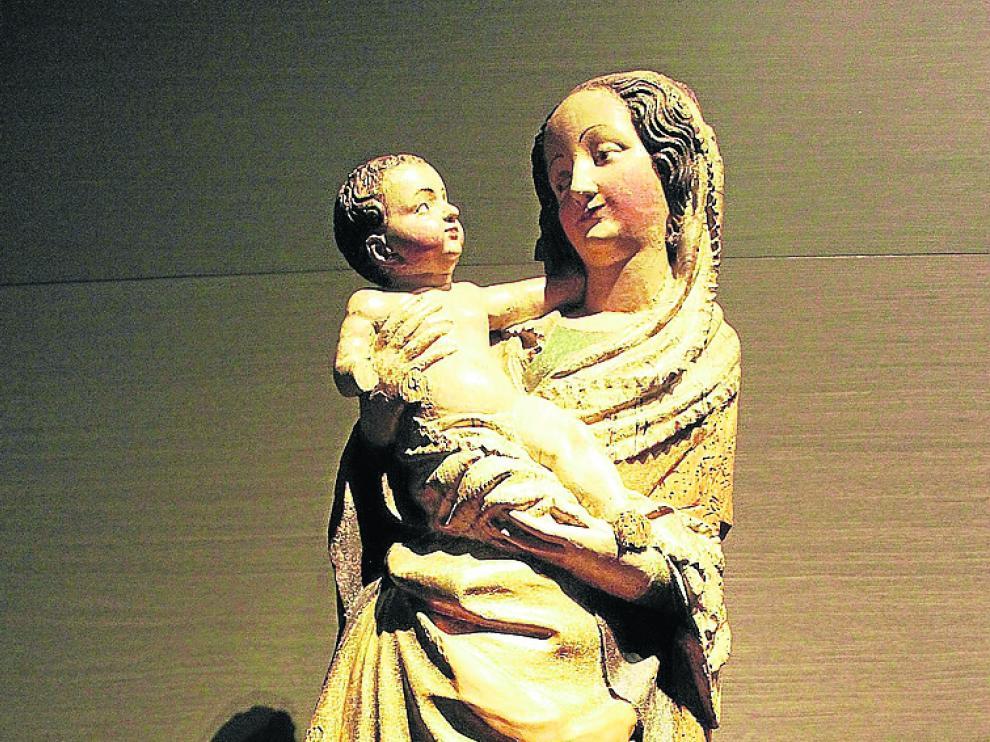 Una de las piezas del Monasterio de Sijena.