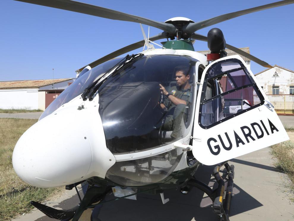 El helicóptero de la Guardia Civil ha intervenido en tres rescates de montaña este puente
