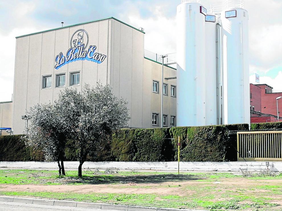 Instalaciones de la fábrica que el grupo Bimbo tiene en el polígono Malpica de Zaragoza.