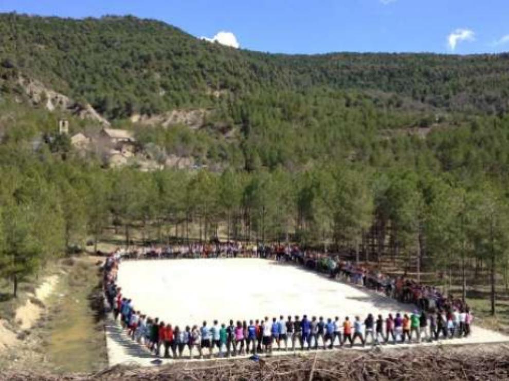 Cada verano el Centro Scout Griébal tiene más de 15.000 pernoctas de casi 3.000 jóvenes provenientes de toda Europa.