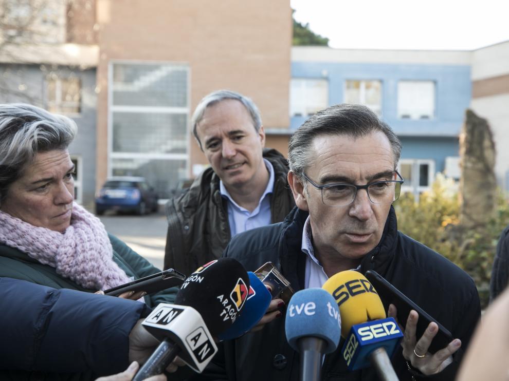 El presidente del PP de Aragón, Luis María Beamonte, en una imagen de archivo.