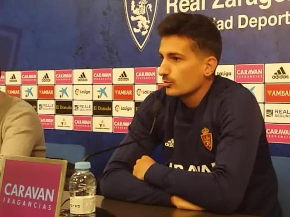 """Álex Muñoz, Real Zaragoza: """"Tenemos capacidad para dar la vuelta a esta situación"""""""