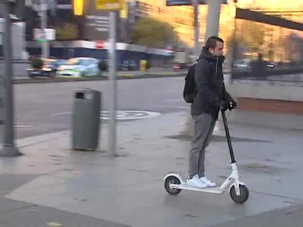 El patinete eléctrico está implicado en 273 accidentes de 2018 en España.