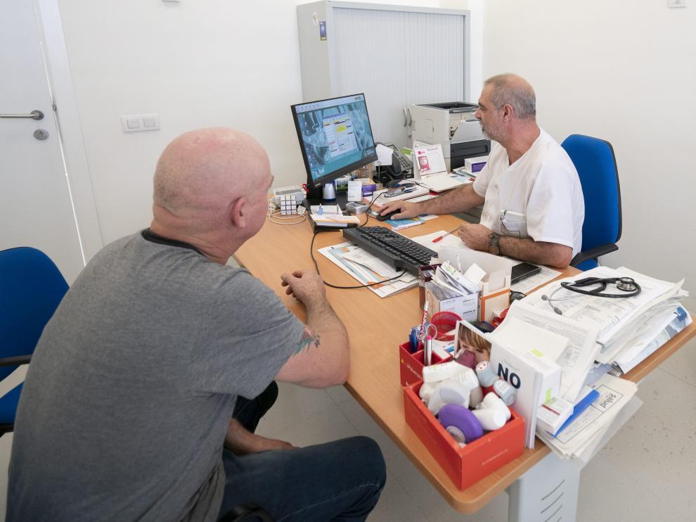 Consulta en el centro de salud Ensanche de Teruel