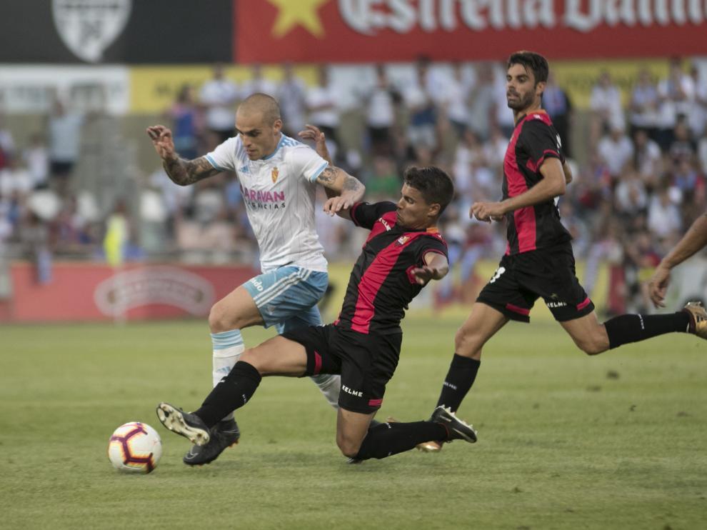 Reus-Real Zaragoza, jornada 2 de Segunda División.