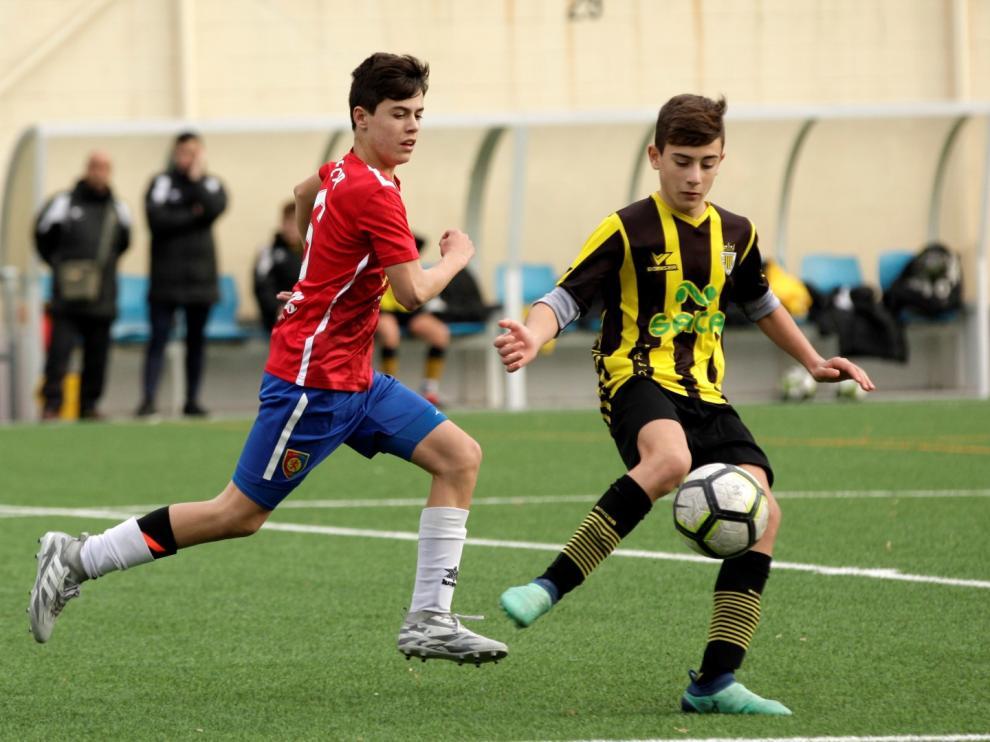 Fútbol. DH Infantil- Balsas vs. Montecarlo.