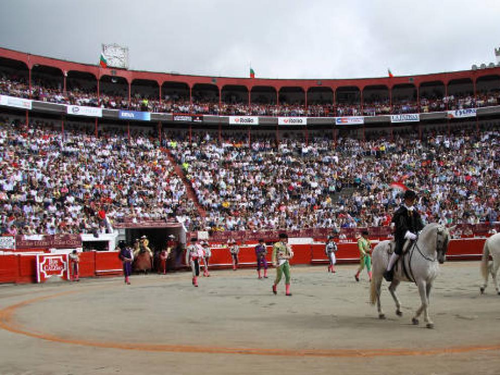 Plaza de toros de Medellín.