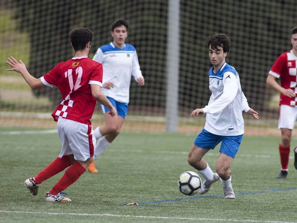 Fútbol. LNJ- Marianistas vs. Hernán Cortés.