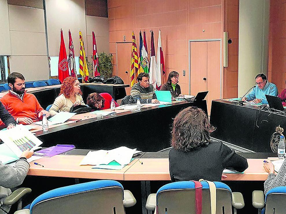Uno de los talleres realizados en las primeras fases del Ebro Resilience.