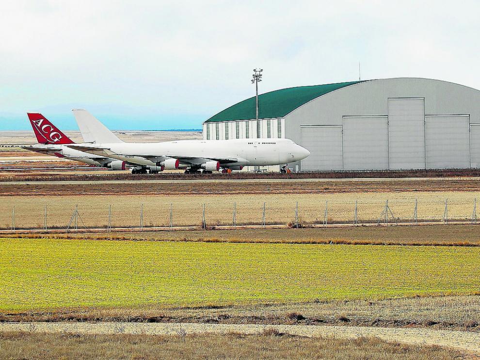 La nueva nave triplicará la superficie del principal hangar existente actualmente, en la imagen.