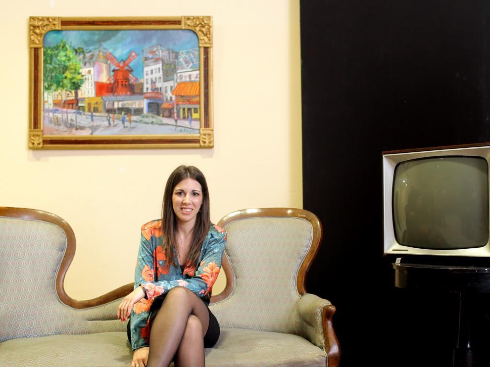La joven historiadora zaragozana Ana Asión Suñer, autora de 'El cambio ya está aquí'.