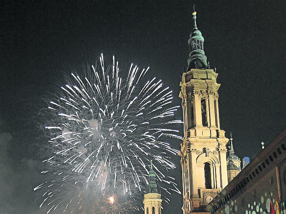 La plaza del Pilar acogerá una fiesta para despedir el año.