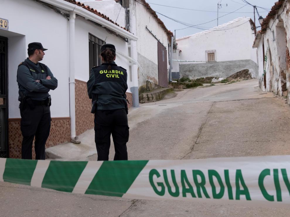 Vivienda de Bernardo Montoya, el asesino confeso de Laura.