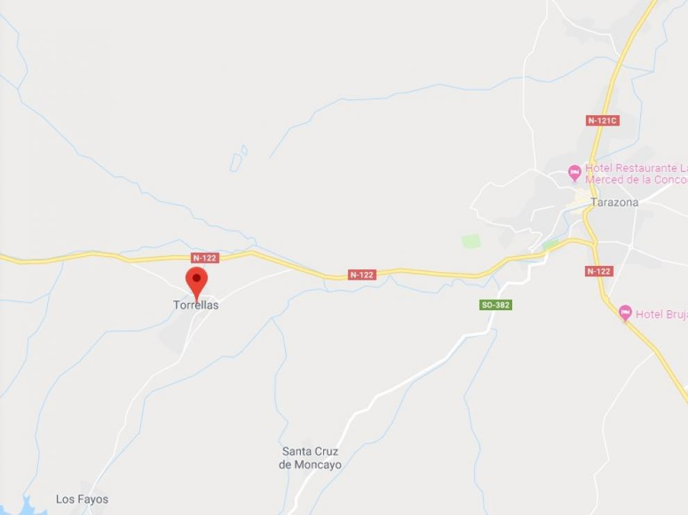 El cuerpo fue hallado este lunes en un paraje conocido como Los Lombacos, en Torrellas.