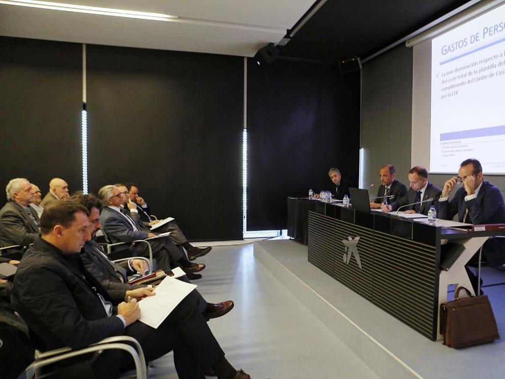 Junta General de accionistas del Real Zaragoza
