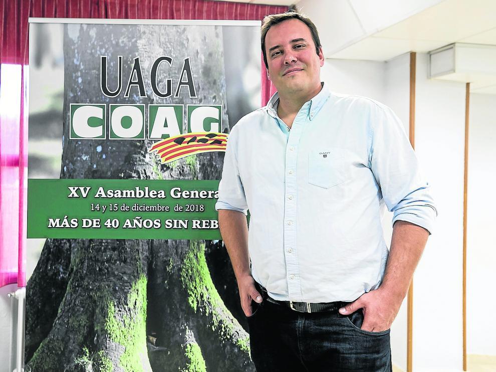José María Alcubierre, nuevo secretario general de UAGA.