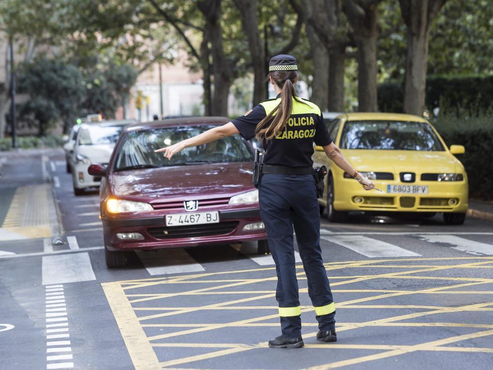 Las mujeres en la plantilla de la Policía Local de Zaragoza suponen un 13,4% de los efectivos.